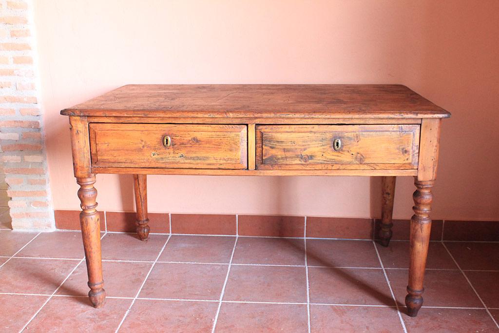 Mesa de cocina 1 b huerta vieja for Mesa cocina sevilla